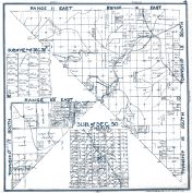 Sheet 004 - Townships 15 and 16 S., Ranges 11 and 12 E., Township 17 S., Range 22 E., Fresno County 1923
